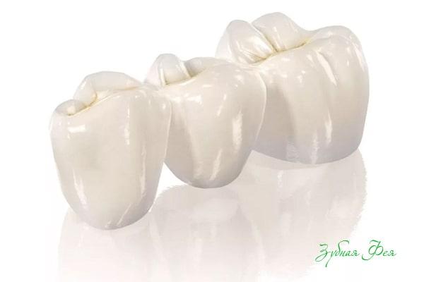 Безметалловая керамика зубов